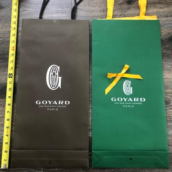 Set of TWO Goyard Shopping Bags
